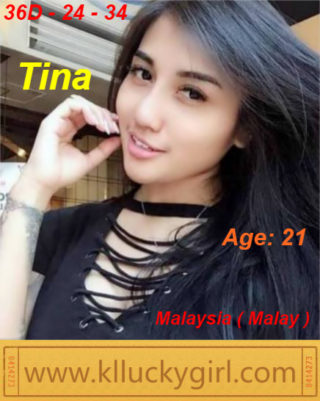 Tina – By KL Lucky Girl, 21 years old Malaysian escort in Shah Alam