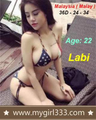 Labi – By My Girl 333, 22 years old Malaysian escort in Shah Alam