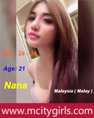 Nana – By M City Girls, 21 years old Malaysian escort in Shah Alam